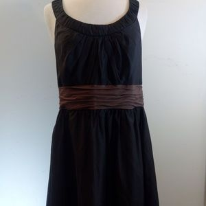White House Black Market Silk & Cotton Flowy Dress